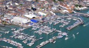 Located on the Isle of Wight, the marina hosts the annual Cowes Race Week and a number of other events throughout the year.