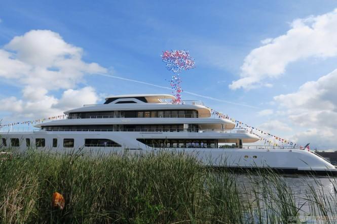 Feadship Superyacht AQUARIUS - image by Hanco Bol via Dutch Yachting 2
