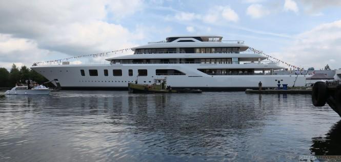 Feadship Superyacht AQUARIUS - image by Hanco Bol via Dutch Yachting 3