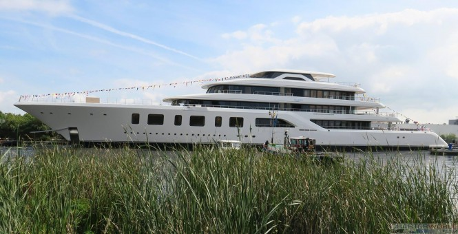 Feadship Superyacht AQUARIUS - image by Hanco Bol via Dutch Yachting