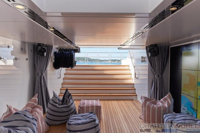Feadship Yacht Joy Lower aft