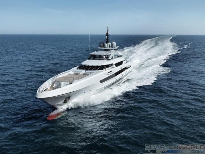 Galactica Super Nova by Heesen Yachts