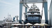 Superyacht SARASTAR launched on the 12th of September, 2016.