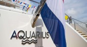 Superyacht AQUARIUS at her Launch - image by Feadship 11