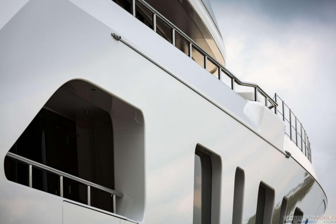 Superyacht AQUARIUS at her Launch - image by Feadship 12