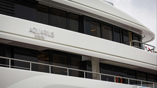 Superyacht AQUARIUS at her Launch - image by Feadship 21