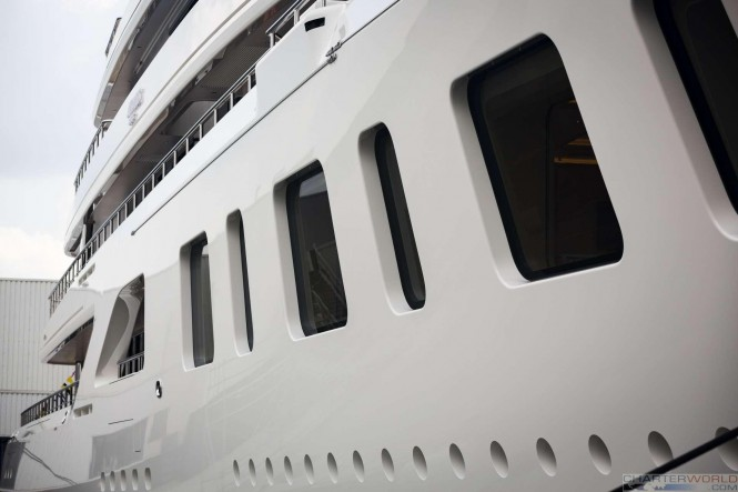 Superyacht AQUARIUS at her Launch - image by Feadship 22
