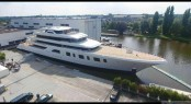 Superyacht AQUARIUS at her Launch - image by Feadship 24