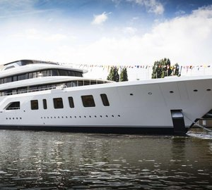 Feadship 92 Meter Yacht Aquarius Launched