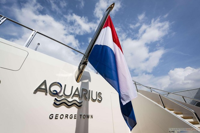 Superyacht AQUARIUS at her Launch - image by Feadship 9