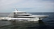 Superyacht Joy on her sea trial - image copyright Feadship 3
