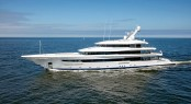 Superyacht Joy sea trials - copyright feadship
