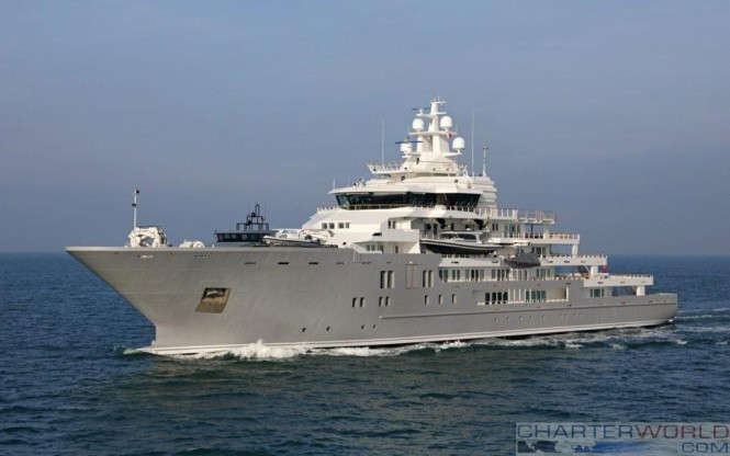 Ulysses Superyacht by Kleven