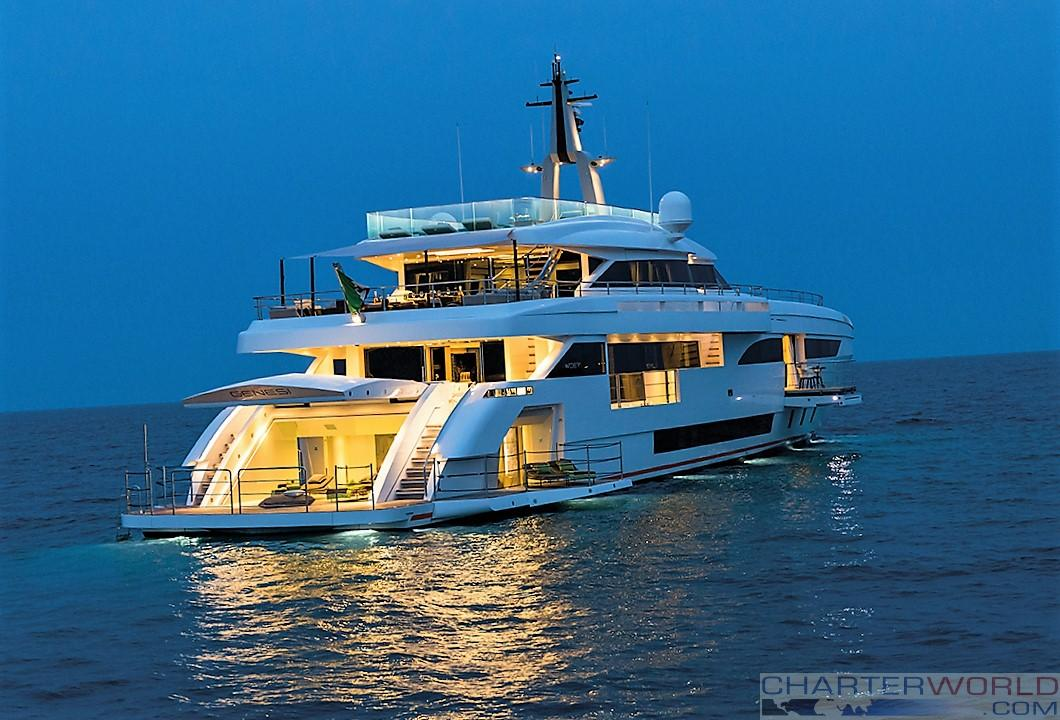 WIDER 150 Genesi Photo Jeff Brown — Yacht Charter ...