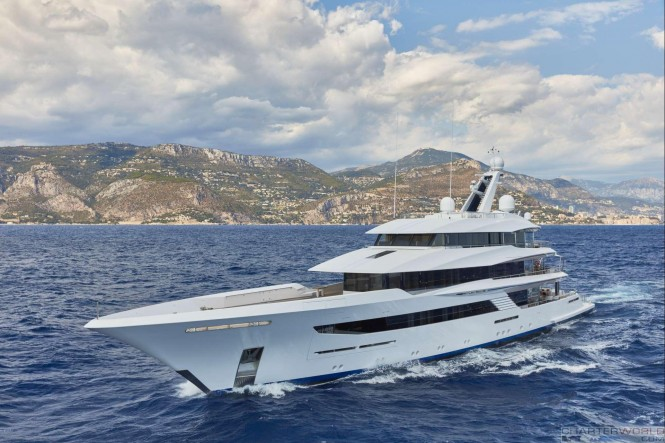 Yacht JOY Cruising the Mediterranean - Copyright Feadship