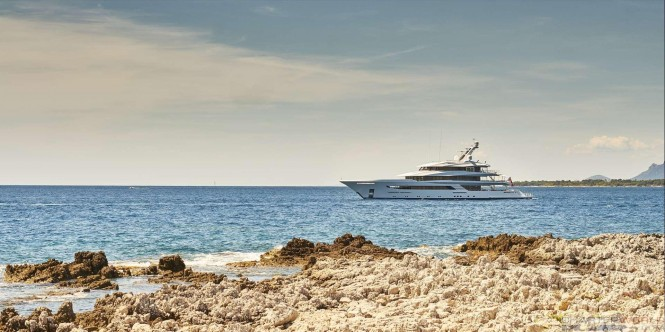 Yacht JOY Cruising in the Mediterranean - Copyright Feadship