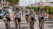 Cogs4Cancer 2014: 16 riders covered 850km in 6 days from Ancona, Eastern Italy to Antibes, South of France