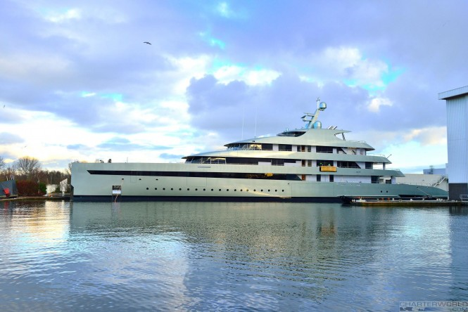 M/Y Savannah. Photo by Christo303
