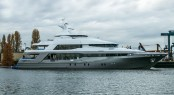 Superyacht Crescent 145 Launch