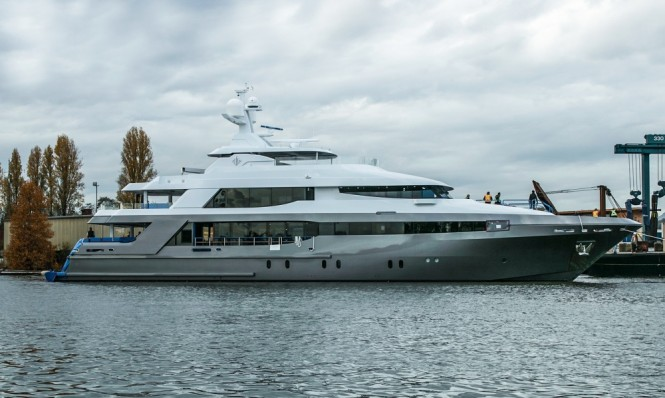 Superyacht Crescent 145 Launch