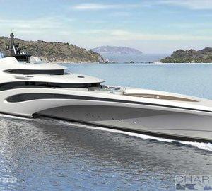 102m Trimaran Superyacht by Echo Yachts & Sorgiovanni Desing