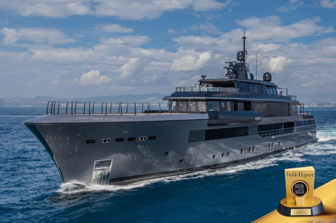 Robb Report's 'Best of the Best 2016' goes to M/Y Atlante