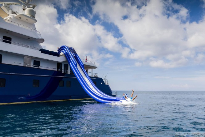 Superyacht NORTHERN SUN - Slide