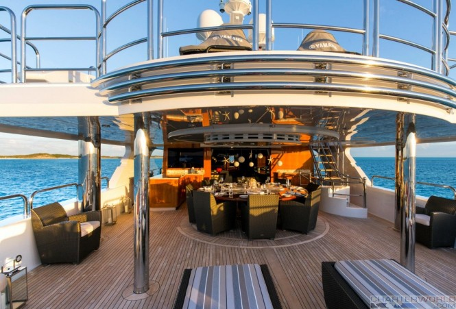Luxury yacht REMEMBER WHEN - Sundeck