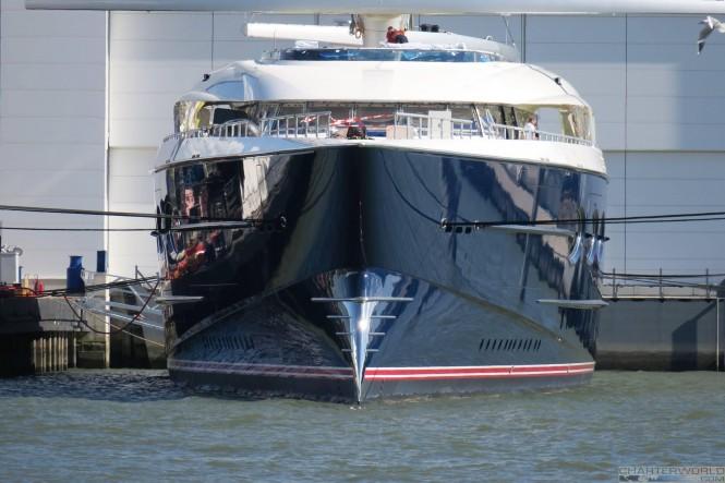 Oceanco 106m sailing yacht Y712 solar - image by dutchmegayachts