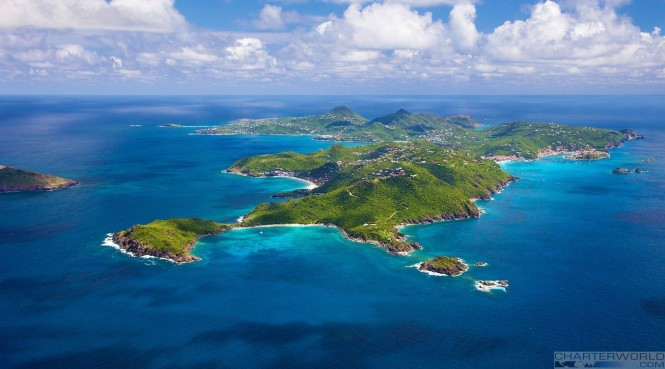 Luxury yacht charter superyacht news for St barts in the caribbean