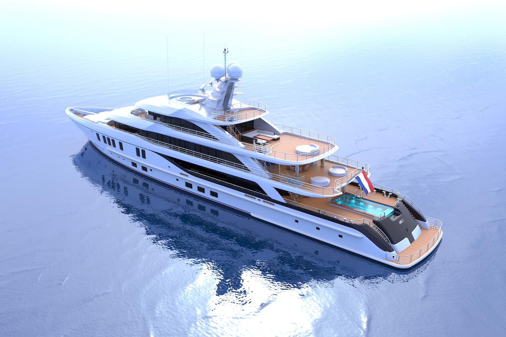 amels nick mezas design nick mezas designs a 74m superyacht in