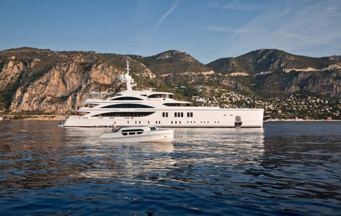 Benetti 11.11 superyacht - Photo credit Jeff Brown