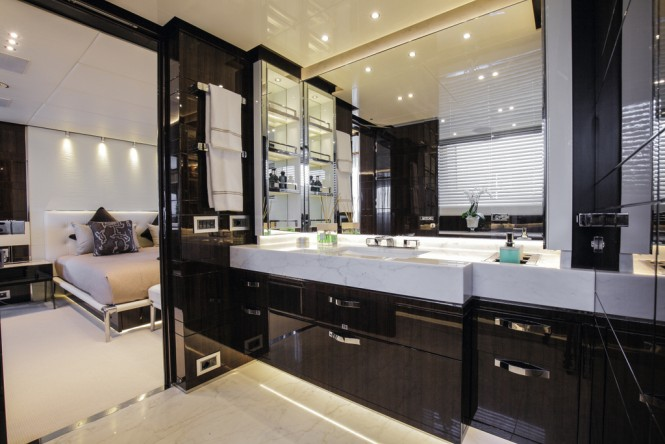 Domani Bathroom Luxury Yacht Charter Superyacht News