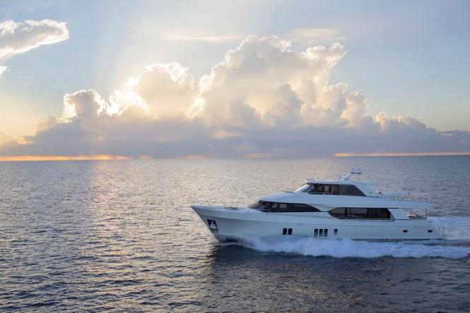 Ocean Alexander 100' Exterior