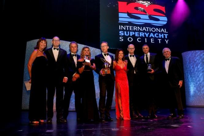 ISS AWARDS - SAVANNAH by Feadship wins