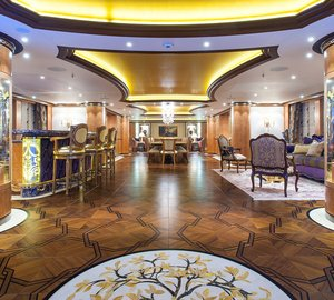Top 10 Amazing Interior Design on Luxury Charter Superyachts