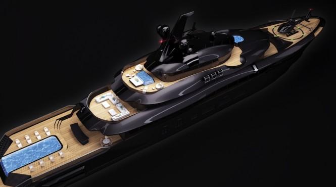MOEA 85M Superyacht by MUB