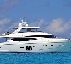 Luxury yacht Livernano available for Caribbean charter