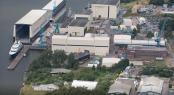 Lurssen Rendsburg shipyard. Photo credit Lurssen