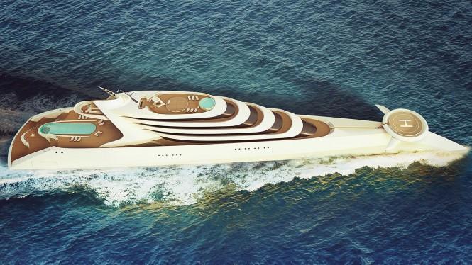 Superyacht concept L'Amage