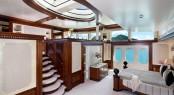 Superyacht Solemar. Interior