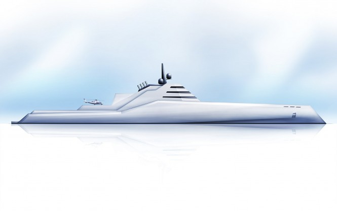 The TRANSPORTER Superyacht