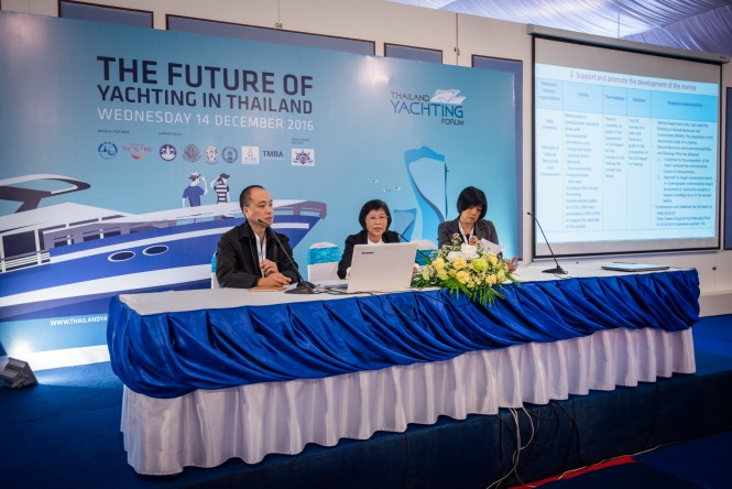 The Thai Yachting Forum preceded the Thailand Yacht Show. Photo credit: Phuket Best Group
