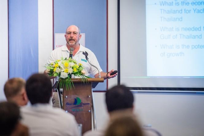 Ron Patston, CEO of Gulf Charters  Photo credit: Phuket Best Group