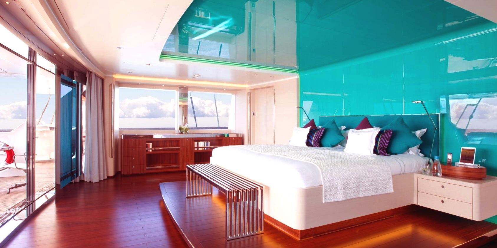 Luxury Yacht Aquijo Master Suite Yacht Charter Superyacht News