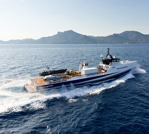 DAMEN Sold Yacht Support Vessel Fast & Furious