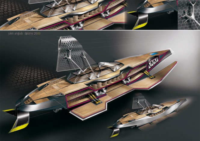 Ikkar Transforming Yacht