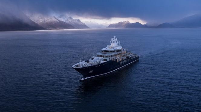 Kleven 370 Explorer Yacht  - Photo credit Berge Myrene