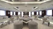 Luxury yacht CHAKRA - Main saloon