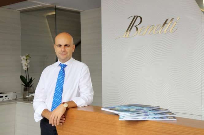 Mr Fabio Ermetto, Benetti Chief Commercial Officer - ©Ameller